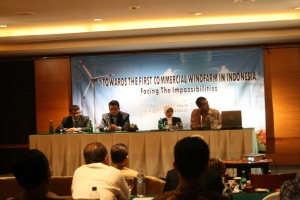 Seminar: Towards the 1st Commercial Wind Farm in Indonesia